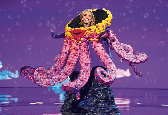 Katherine Jenkins was unveiled as Octopus in The Masked Singer.