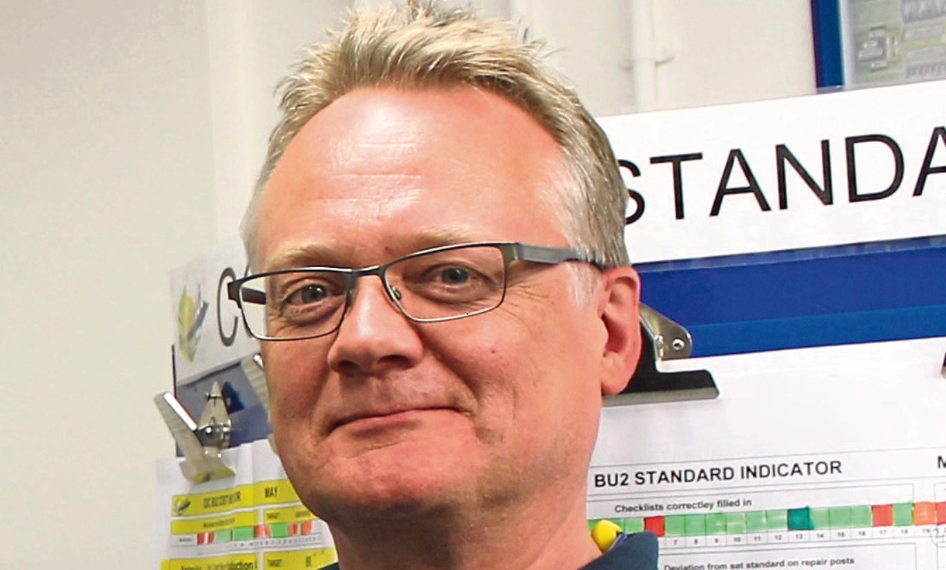 John Reid, outgoing factory manager at Michelin Dundee and chief executive of Michelin Scotland Innovation Par.