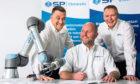 Lee Nixon, Andrew Clouston, Roy Henderson of SP Automation & Robotics
