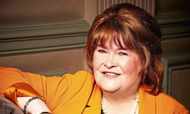 Susan Boyle is coming to Dundee's Caird Hall on March 3.