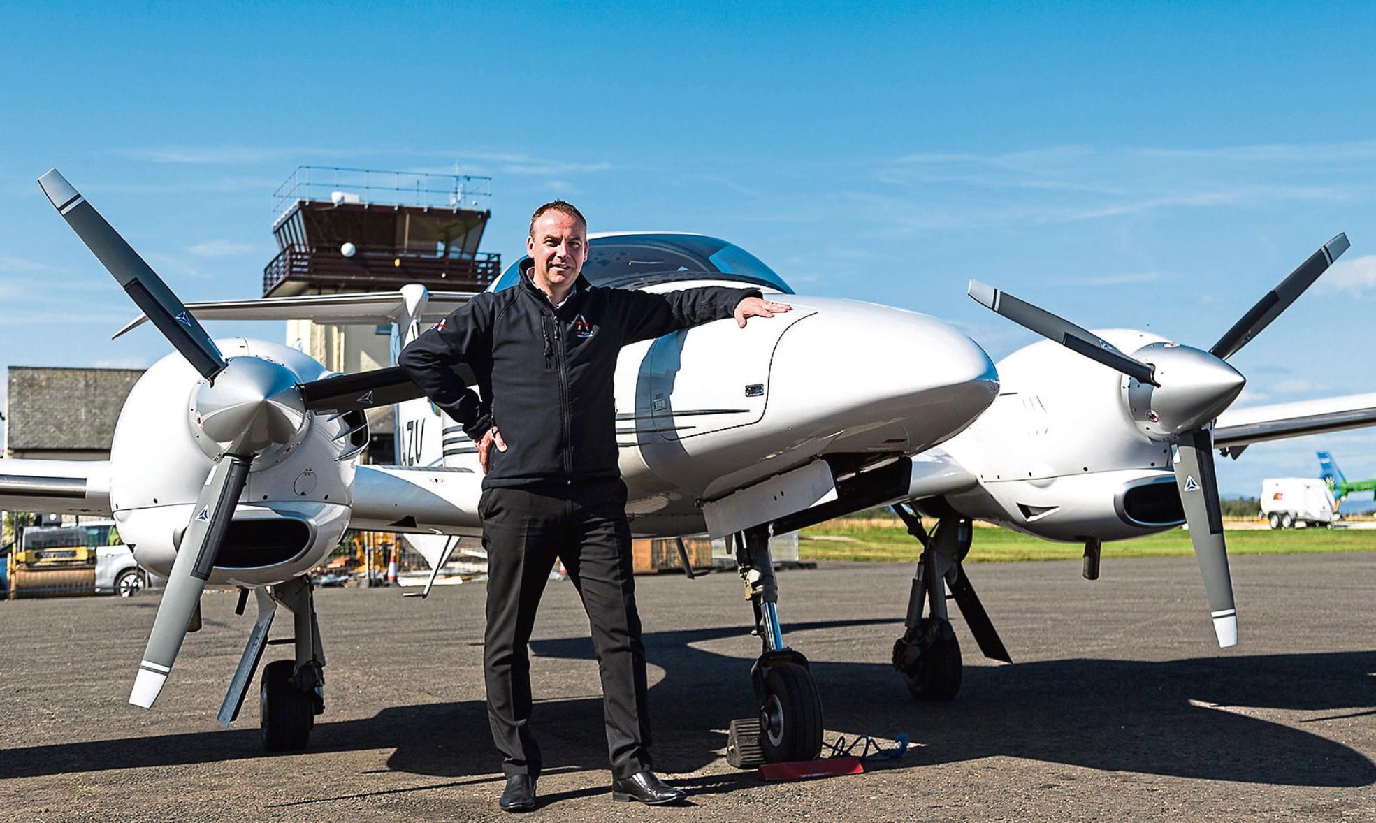 Graeme Frater, chief executive ACS Aviation