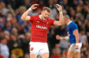 Wales' Dan Biggar played the game against France seemingly in the midst of a 80-minute tantrum.