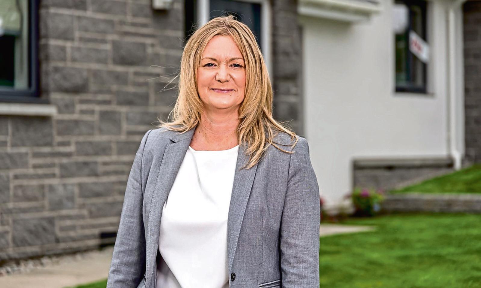 Karen Nicoll, Managing Director of DJ Laing Group