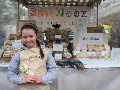 Amelia Milton from Smelleez Soap.