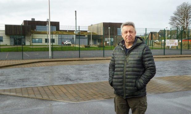 Councillor Angus Forbes is backing the construction of a school which serves the eastern Carse of Gowrie and beyond.
