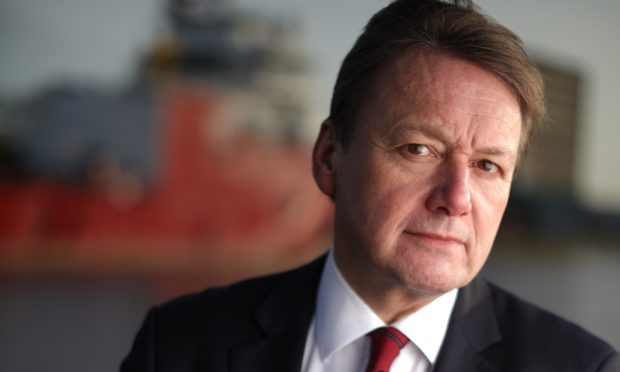 Charles Hammond, chief executive of Forth Ports.