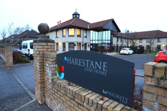 Harestane nursing home in Dundee.