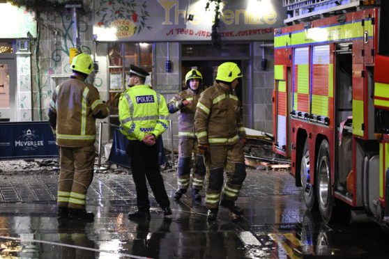 Eighty evacuated from The Venue in Perth after facade collapses