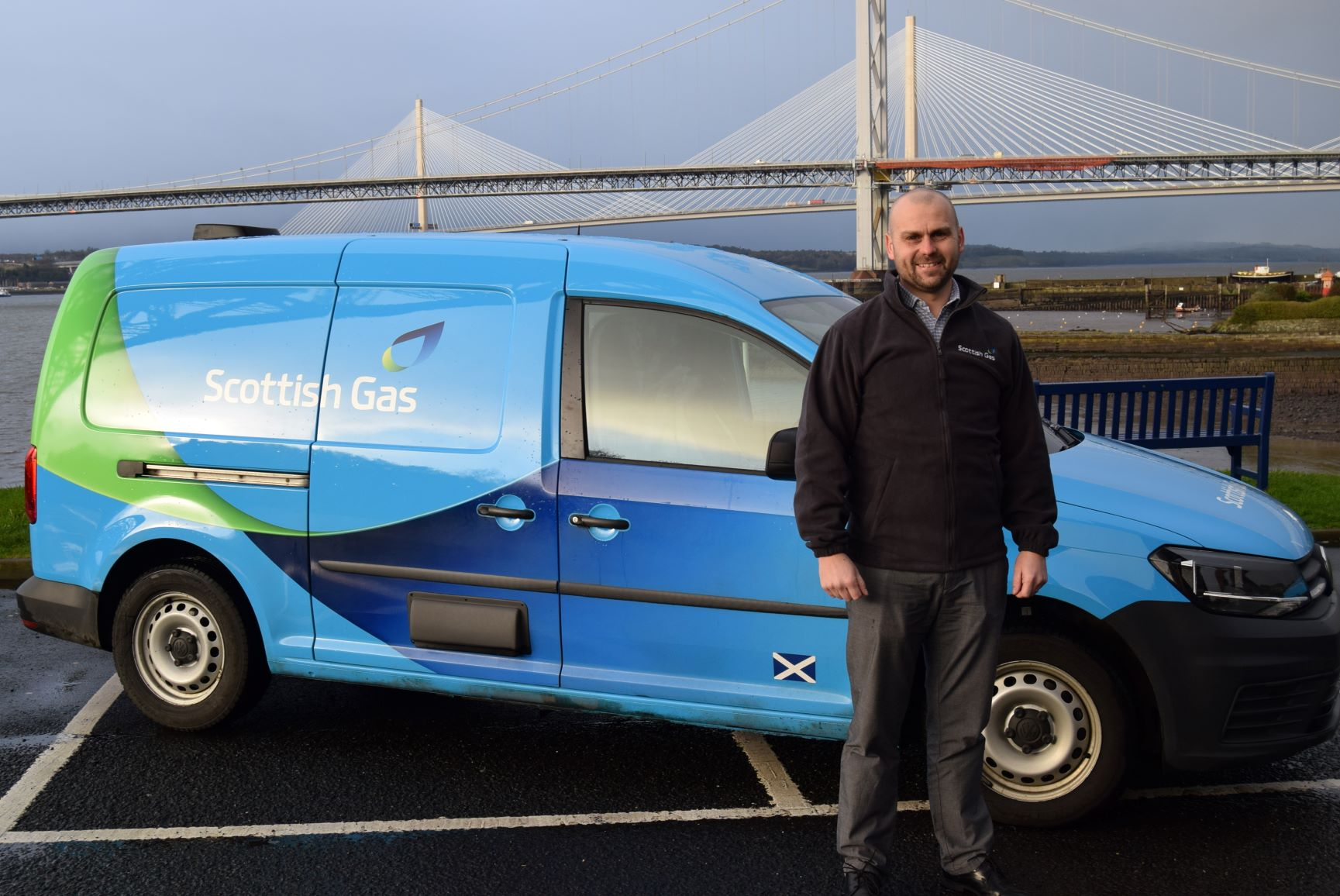 Fife gas boss David Robertson hopes to raise £50,000 for CHAS.