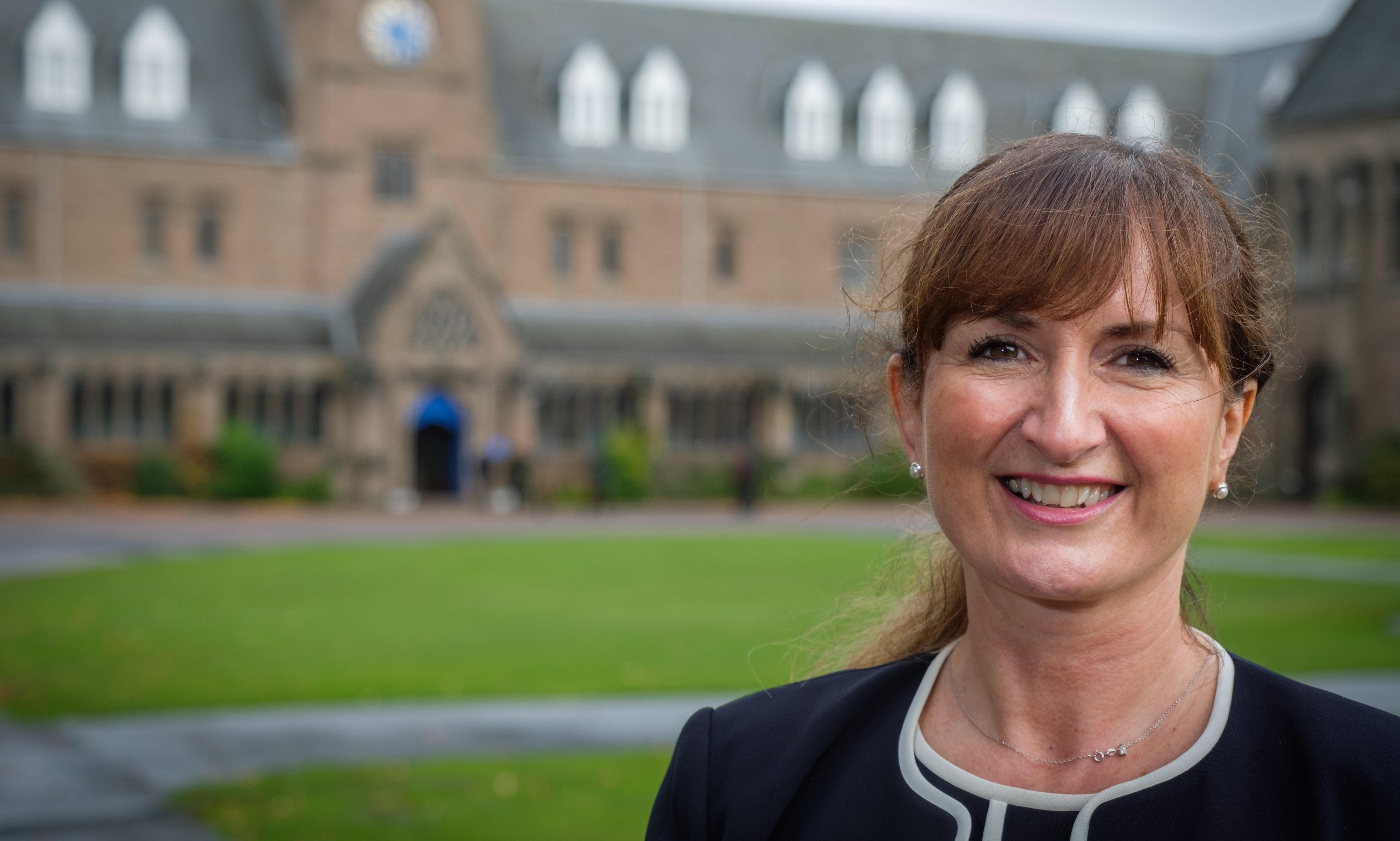 Glenalmond College warden Elaine Logan in 2017