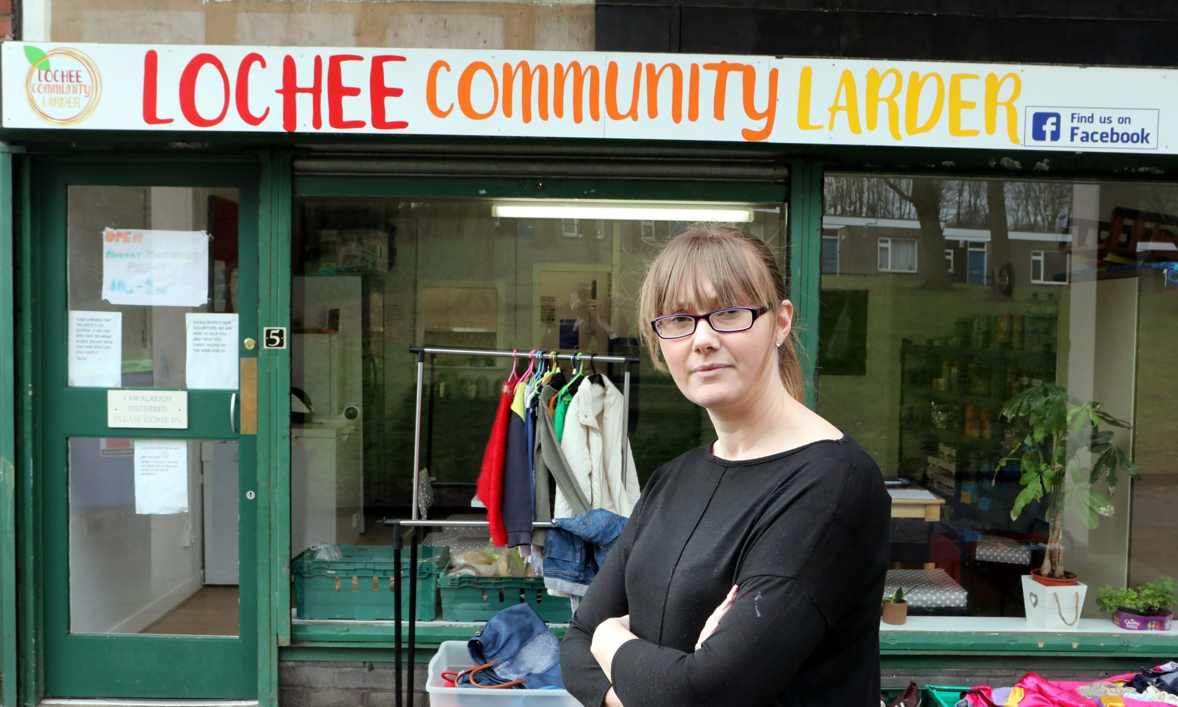 Samantha Bruce, of Lochee Community Larder.