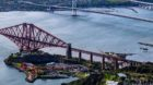 The Forth Bridge North Queensferry approach span will be repainted and refurbished.