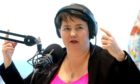Ruth Davidson during her interview with The Stooshie podcast.