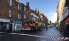 Fire crews called to deal with storm damage in Perth High Street