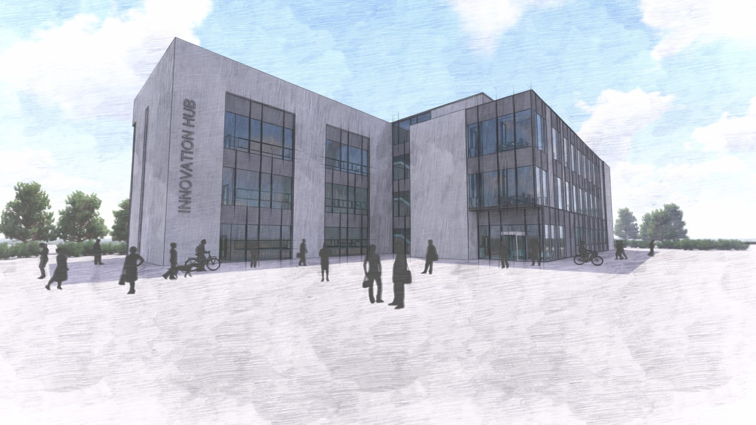 An artist impression of the facility.