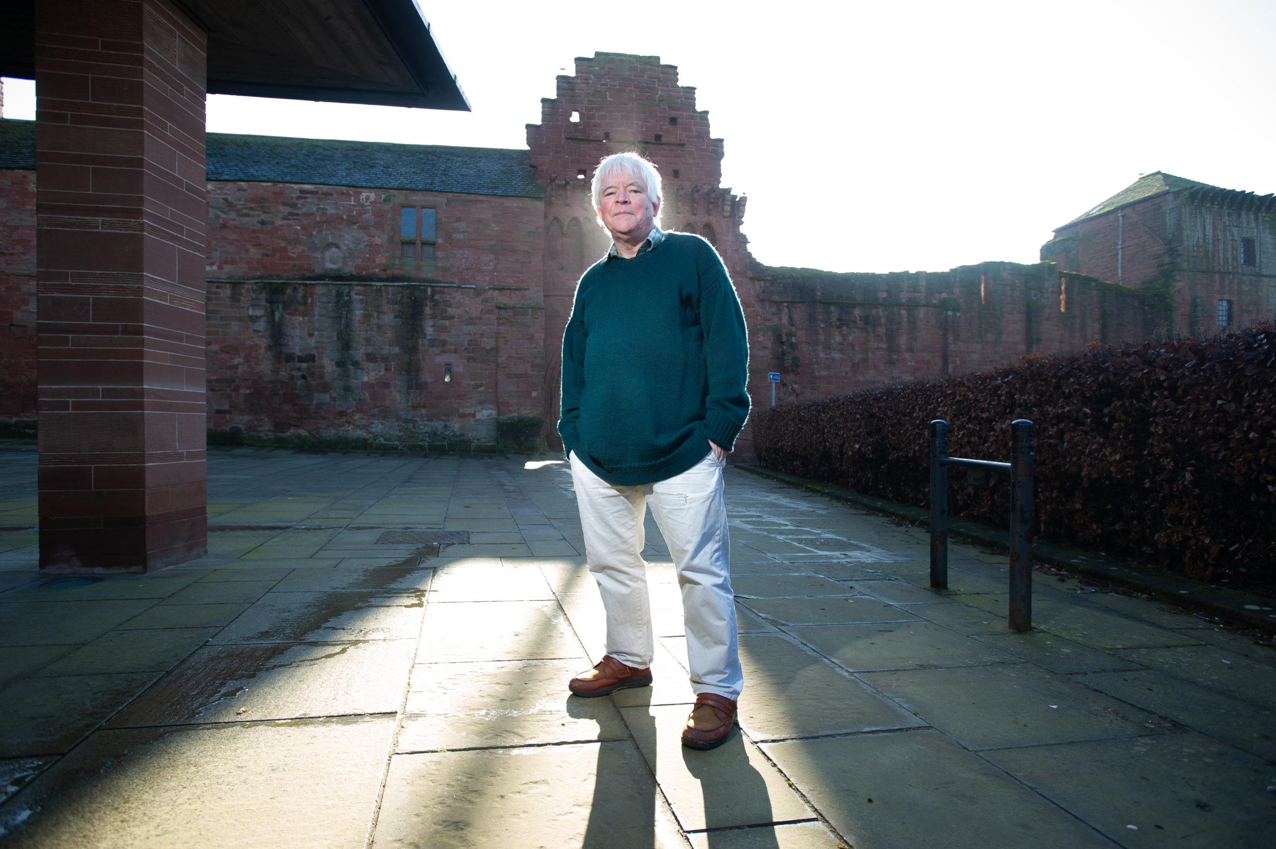 Eddie Cairney at Arbroath Abbey