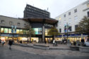 Courier News - Dundee - Dundee story - FOR FILE -  retail shopping in Dundee. Picture Shows; general view of the entrance to the Overgate Shopping Centre, High Street, Dundee, Friday 11 November 2016