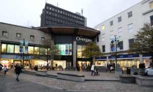 The Overgate shopping centre in Dundee.