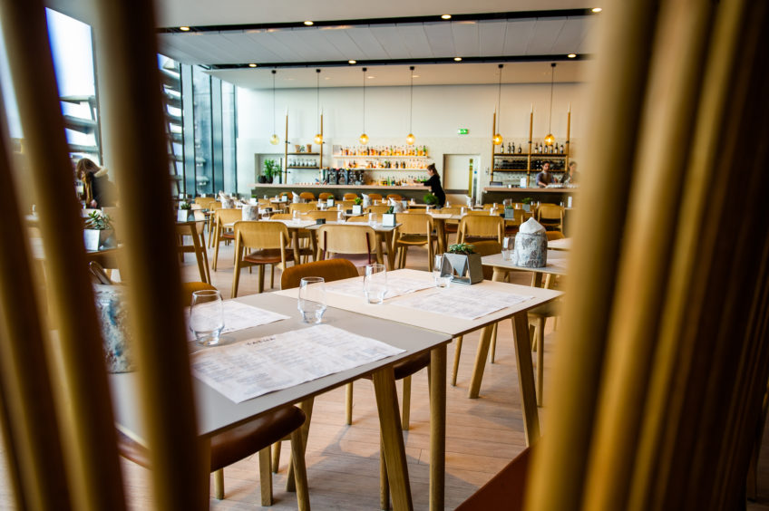 RESTAURANT REVIEW: Serving a flatbread uncooked is one of V&A Dundee's many fine achievements - The Courier