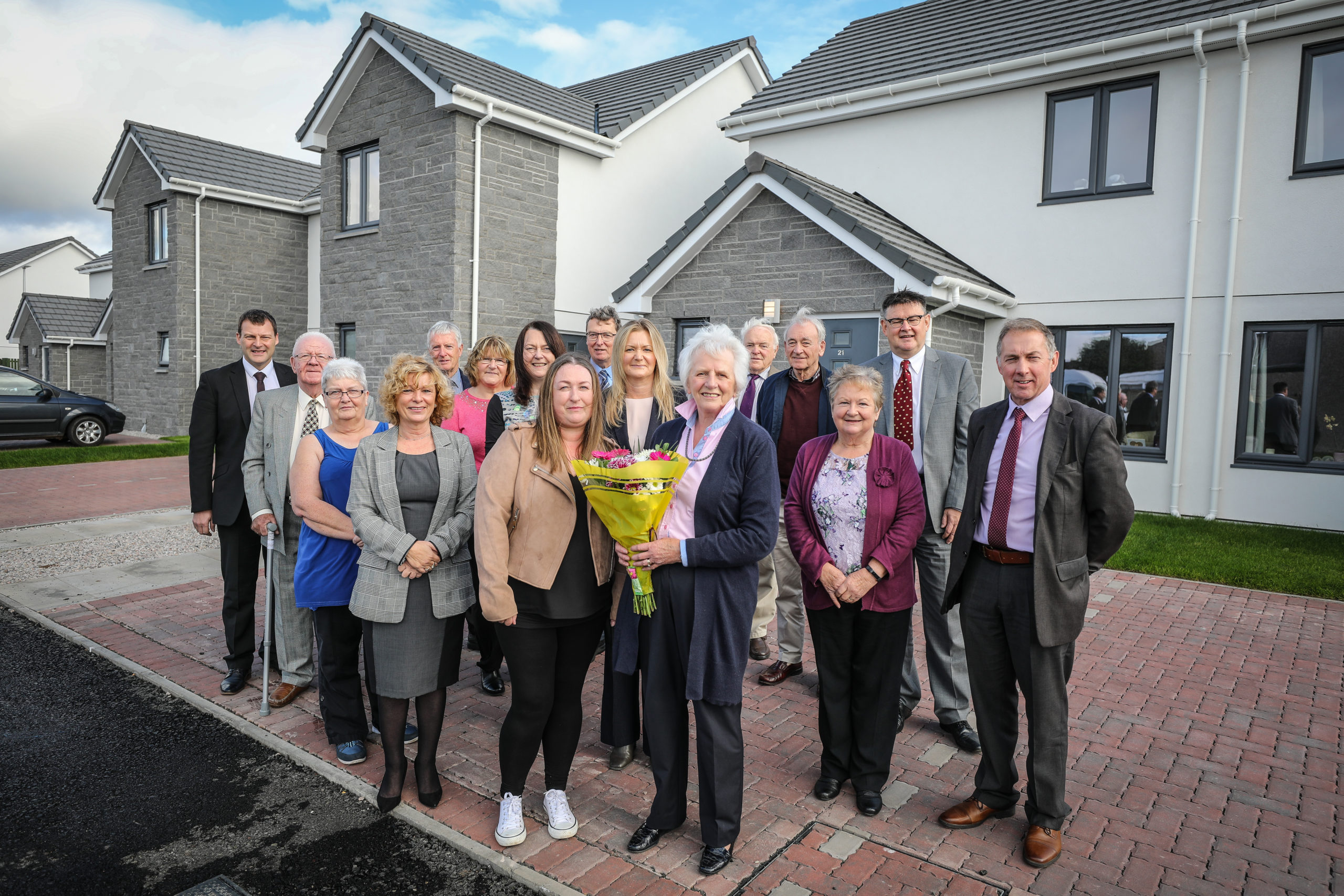 Angus Housing Association recently opened the Malt Loan affordable homes development in Carnoustie.