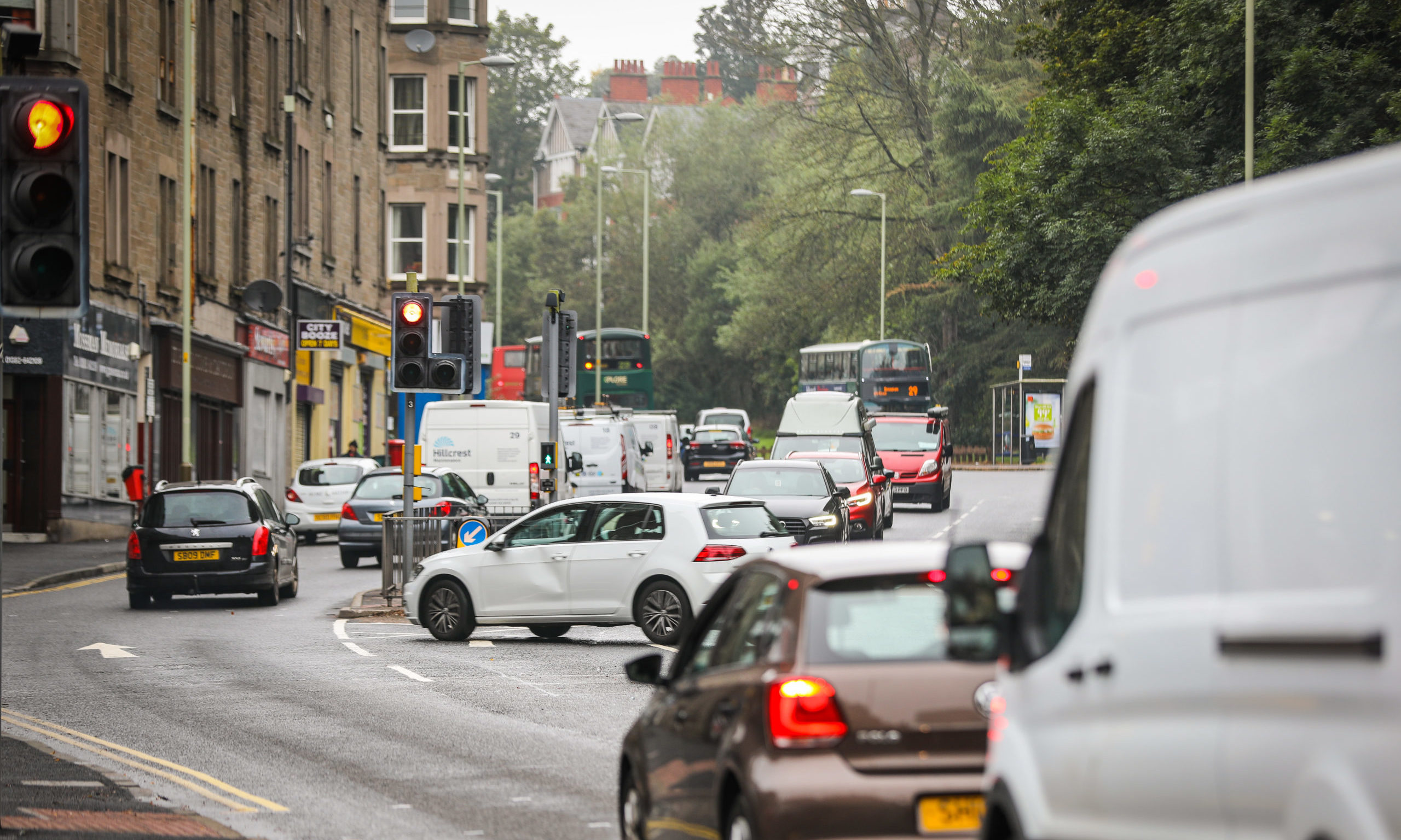 Lochee Road in Dundee is one of Scotland's most polluted streets