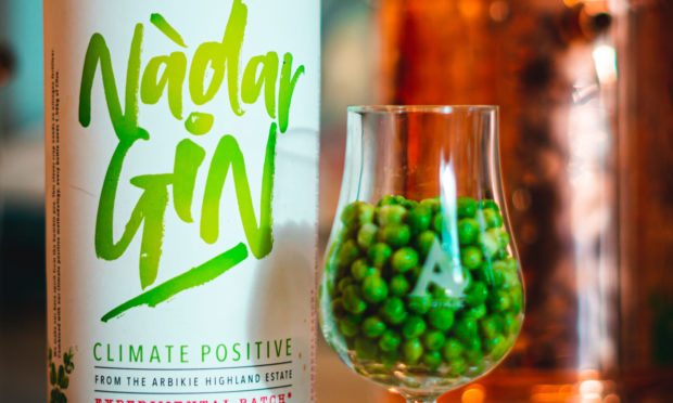 The world's first pea gin.