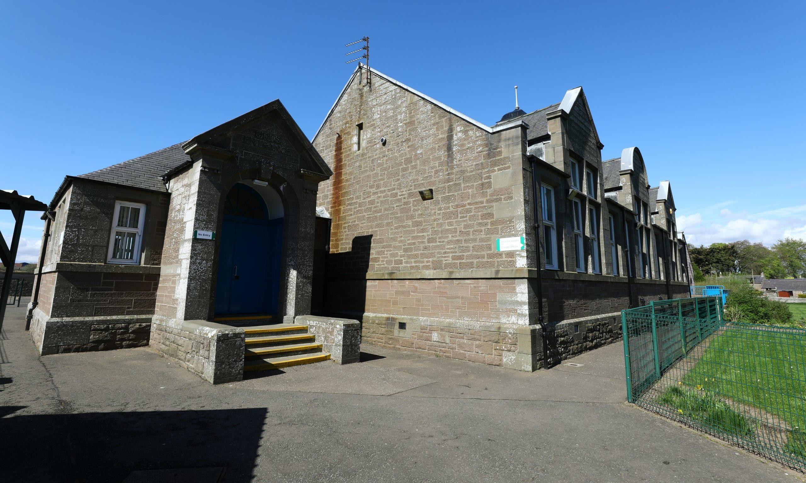 Letham Primary School in Angus. Dougie Nicolson / DCT Media.