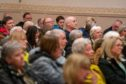 The packed public meeting in Lochgelly.