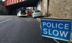 Emergency services were called to the collision at Marshall Place, Perth.