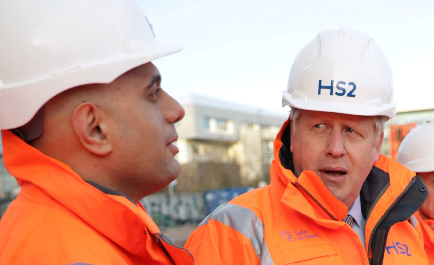 Sajid Javid (left) has become the most high-profile victim of Boris Johnson's plan to take control of Government.