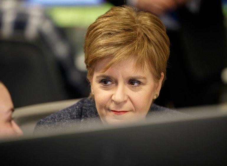 Scottish First Minister, Nicola Sturgeon.