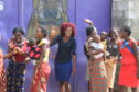 Clients of the Journeying Together project in Zambia.