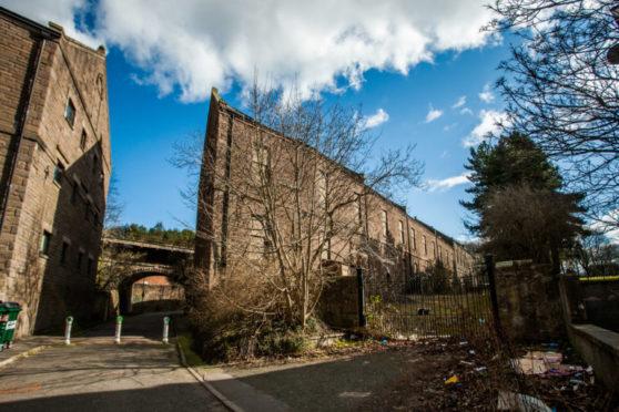 Burnside Mill in Lochee