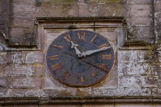 The clock is to be refurbished