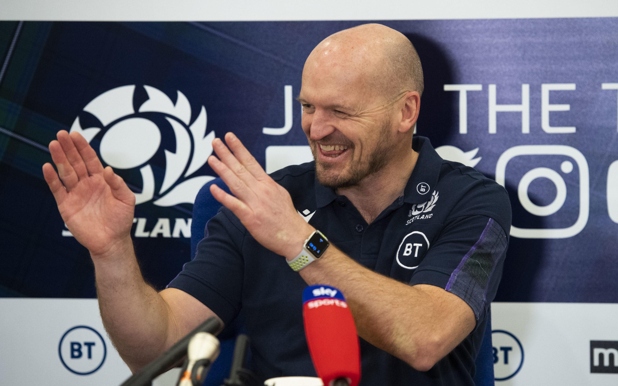 Scotland head coach Gregor Townsend announces his squad to face England.