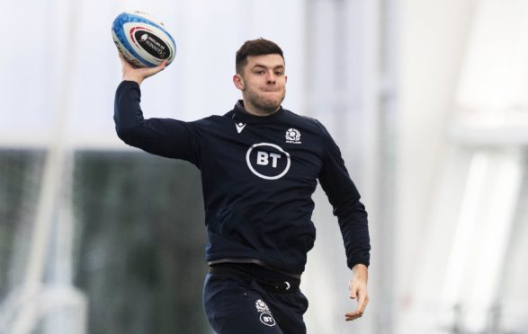 Blair Kinghorn  scored Scotland's first Siux Nations hat-trick in 30 years the last time they played Italy.