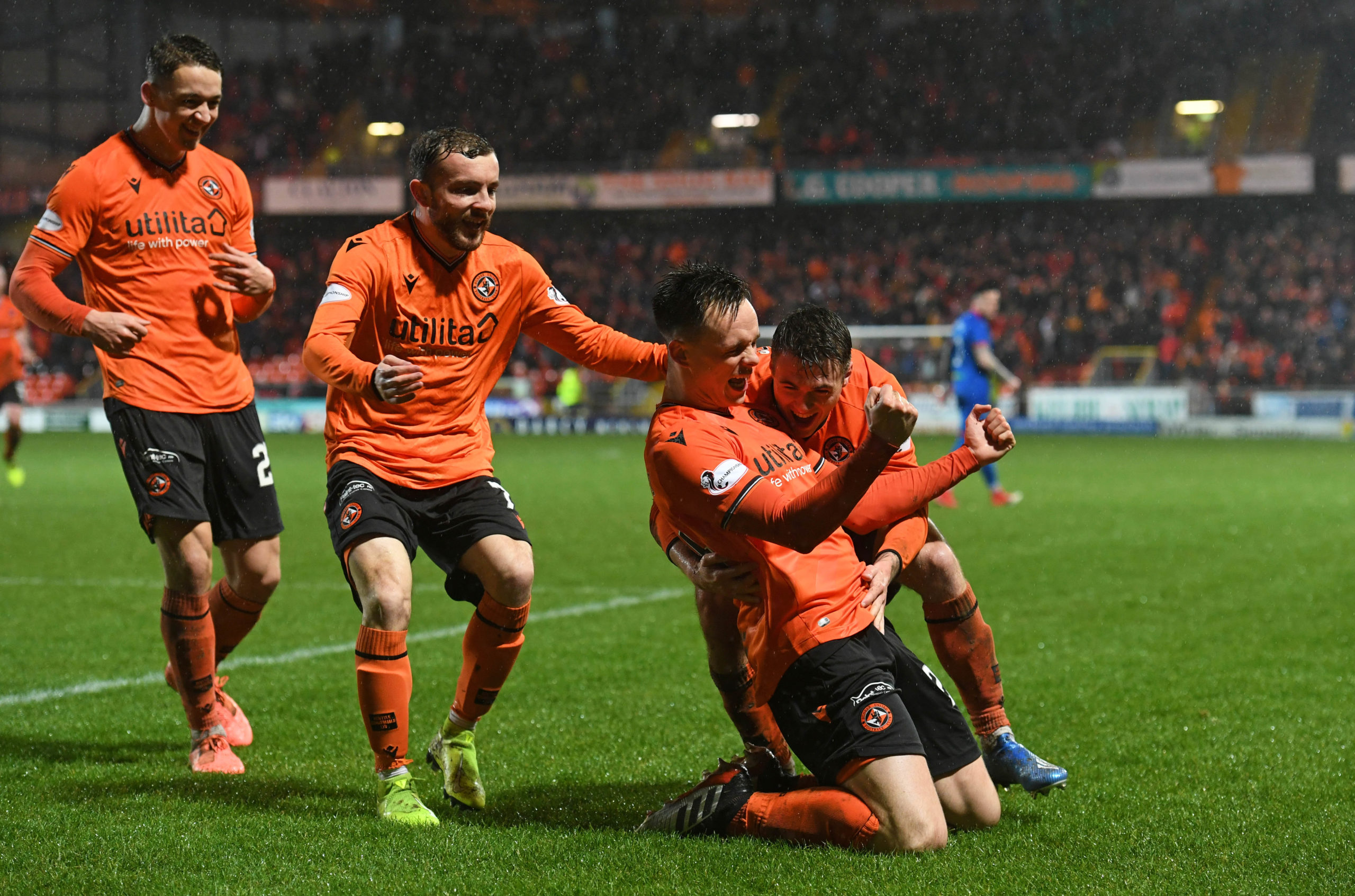 United were crowned champions after Dundee's 'yes' vote on Wednesday