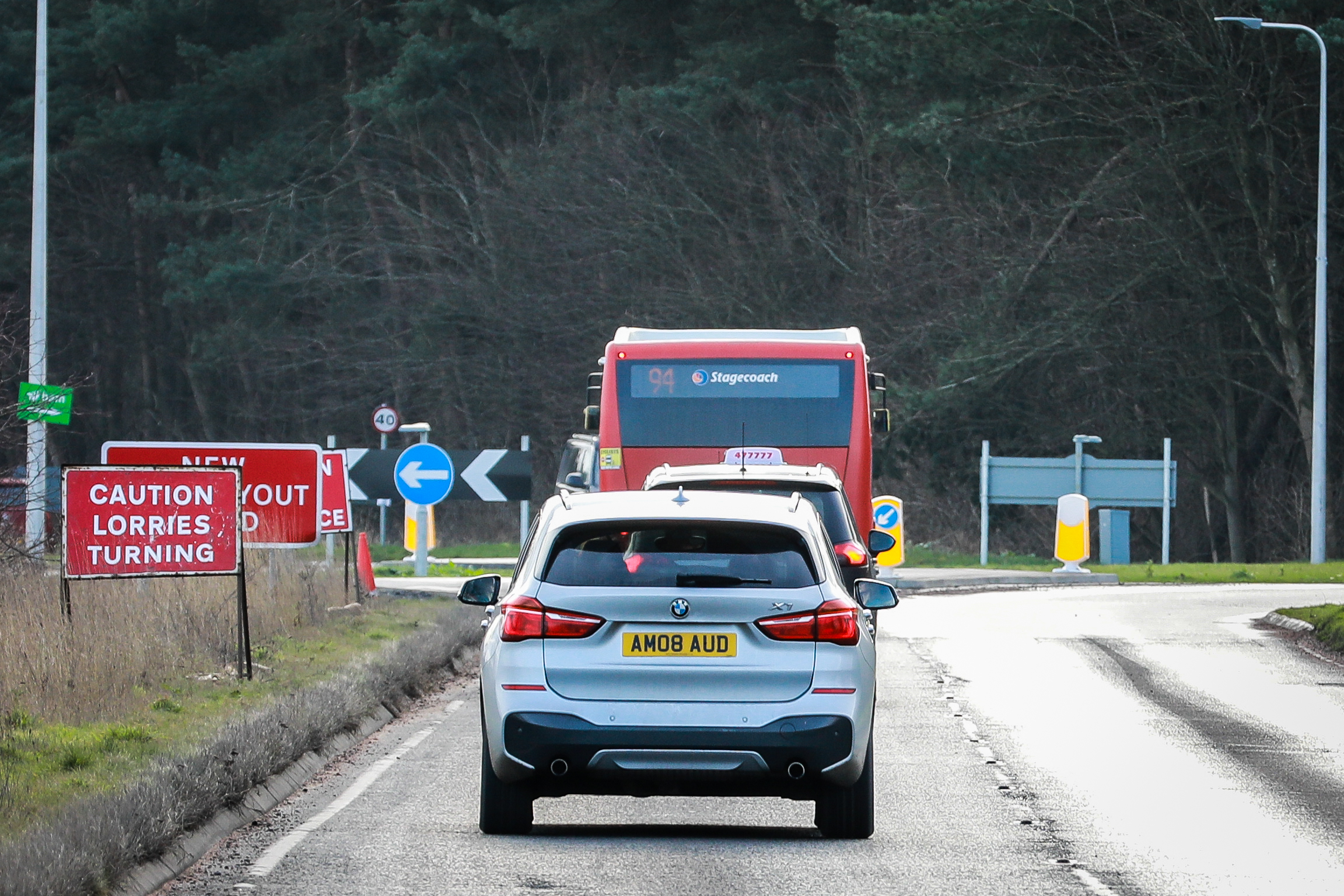 The new road will run from the A91 to the west of St Andrews.
