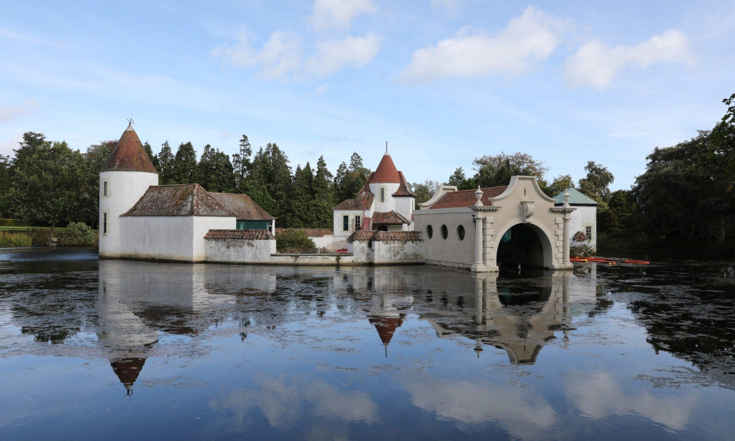 The Dutch Village at Craigtoun Park.