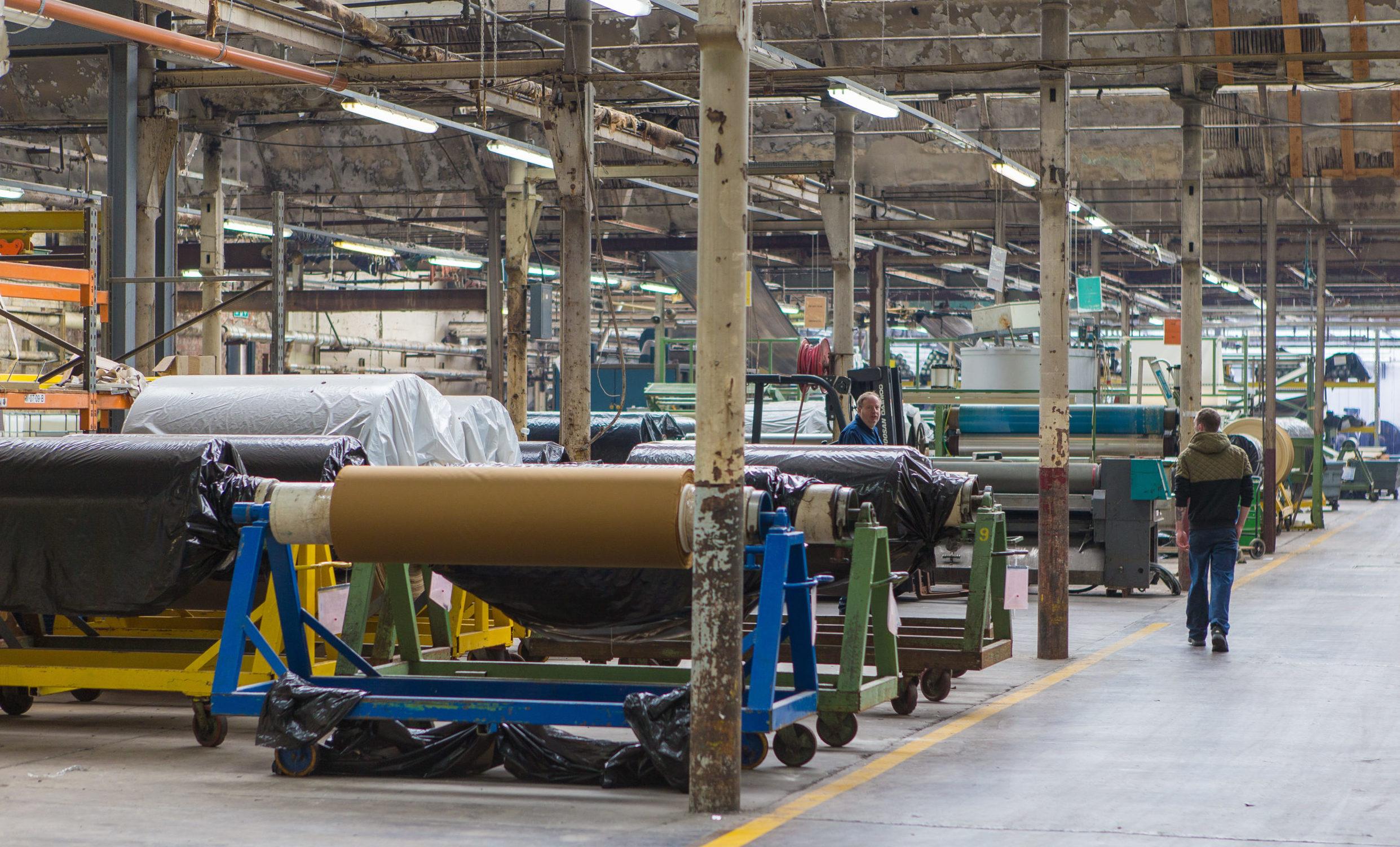 The Halley Stevenson factory