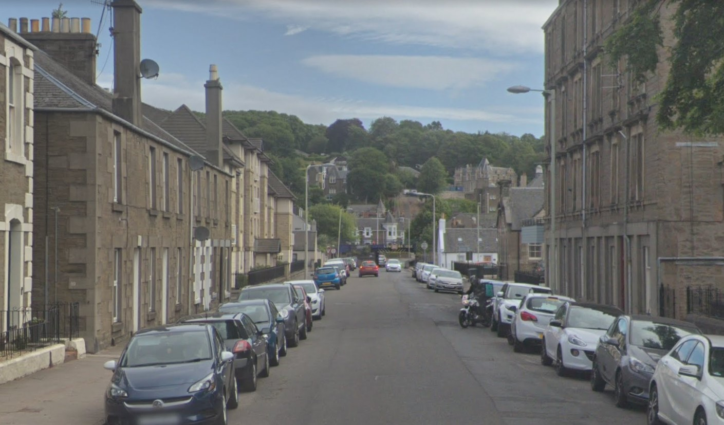 St Vincent Street, Broughty Ferry (stock image).
