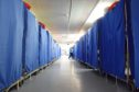 Tens of thousands of items are washed every day in NHS laundries.