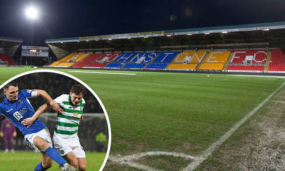 St Johnstone host Celtic in Scottish Cup next month