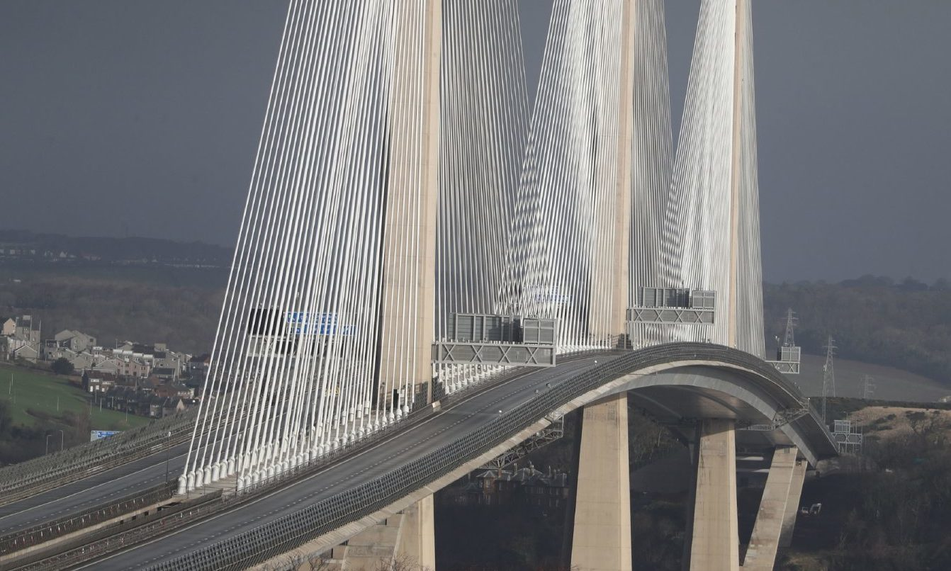 The Queensferry Crossing.