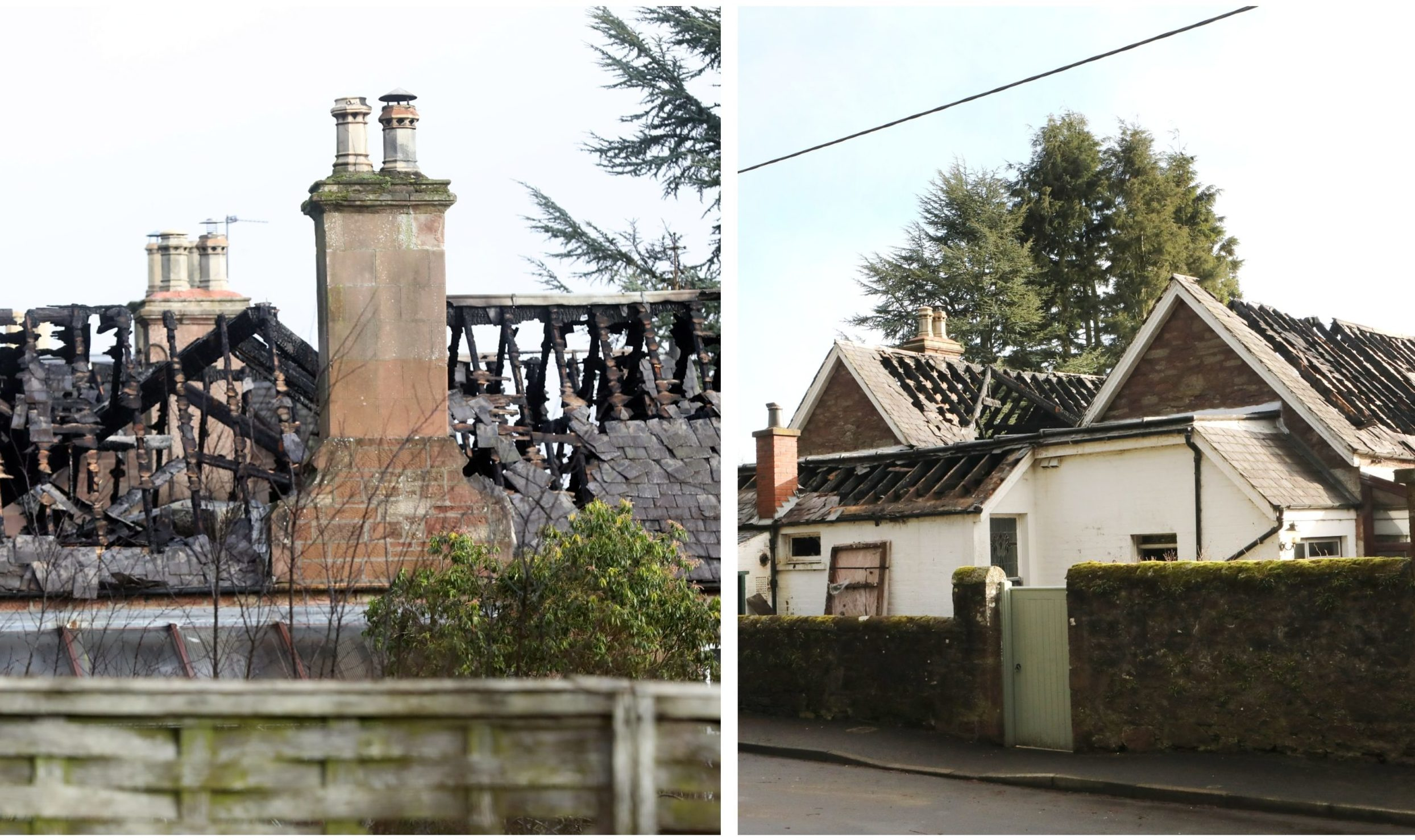 The Albert Street property was left a burnt-out shell after the Thursday night fire.