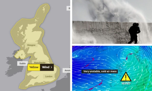 Storm hit the UK at the weekend.