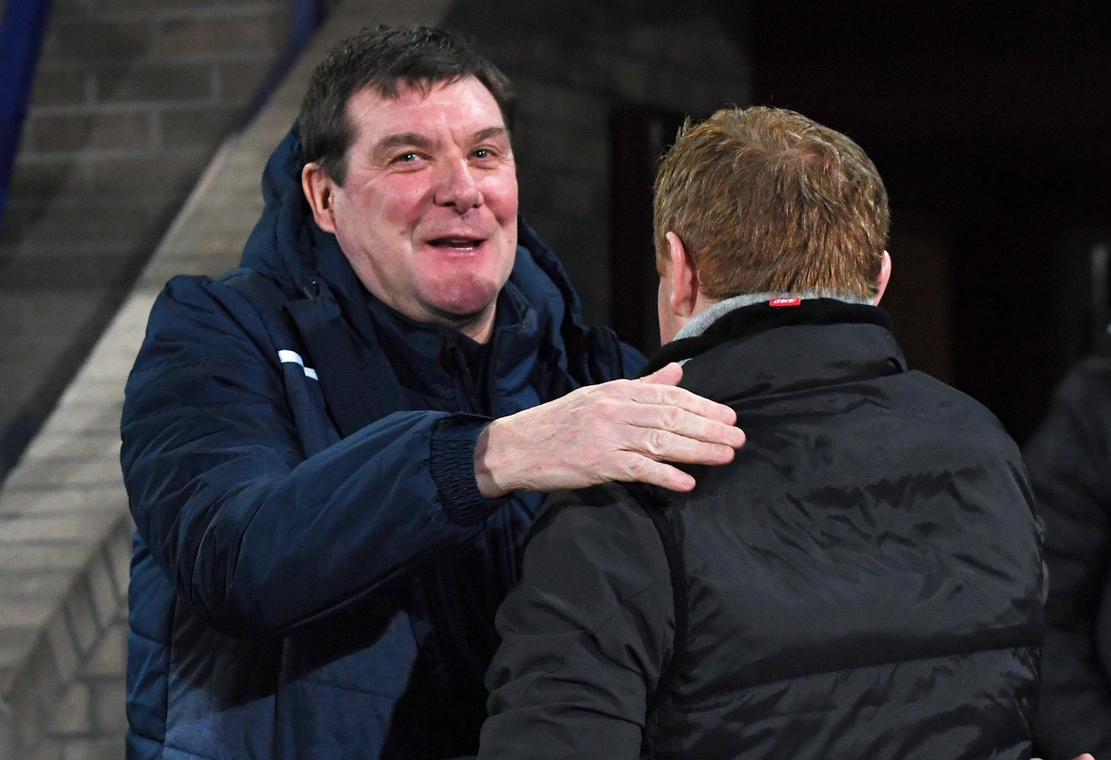 Tommy Wright and Neil Lennon.