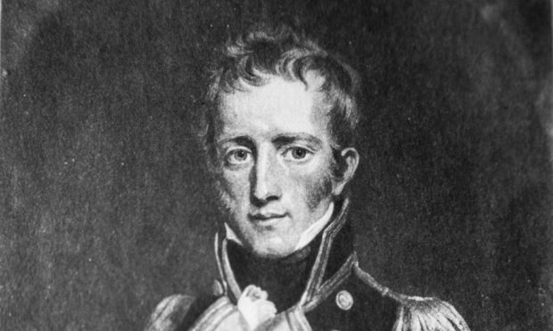 A portrait of Captain Frederick Lewis Maitland, the recipient of NapoleonÕs surrender post-Waterloo. CR0018839 Pic Kenny Smith, Kenny Smith Photography Tel 07809 450119