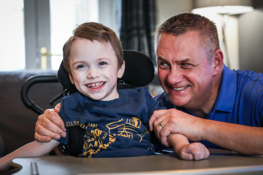 VIDEO: Fife youngster rescued by 'hero' first aiders after infection leaves him fighting for his life - The Courier