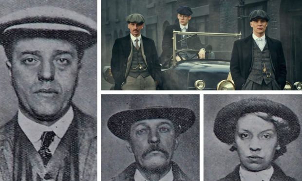Images of a Birmingham family linked to a crime spree more than 100 years ago have drawn comparison with the BBC's Peaky Blinders.